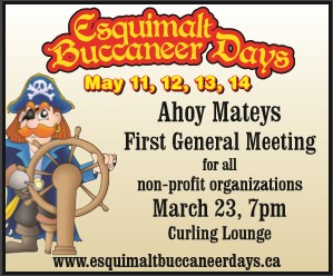 Esquimalt Buccaneer Days - General Meeting for Non Profits