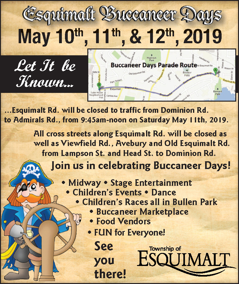 Parade Route Poster 2019